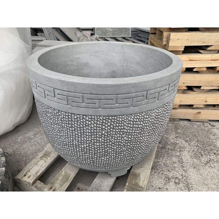 Antique Round Stone Troughs Old Stone Flower Pot Water Trough Garden Stone
