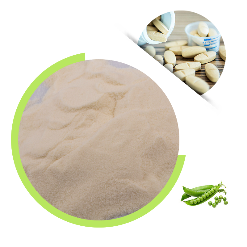 Dry Pea Protein Powder 80% For Food And Beverage