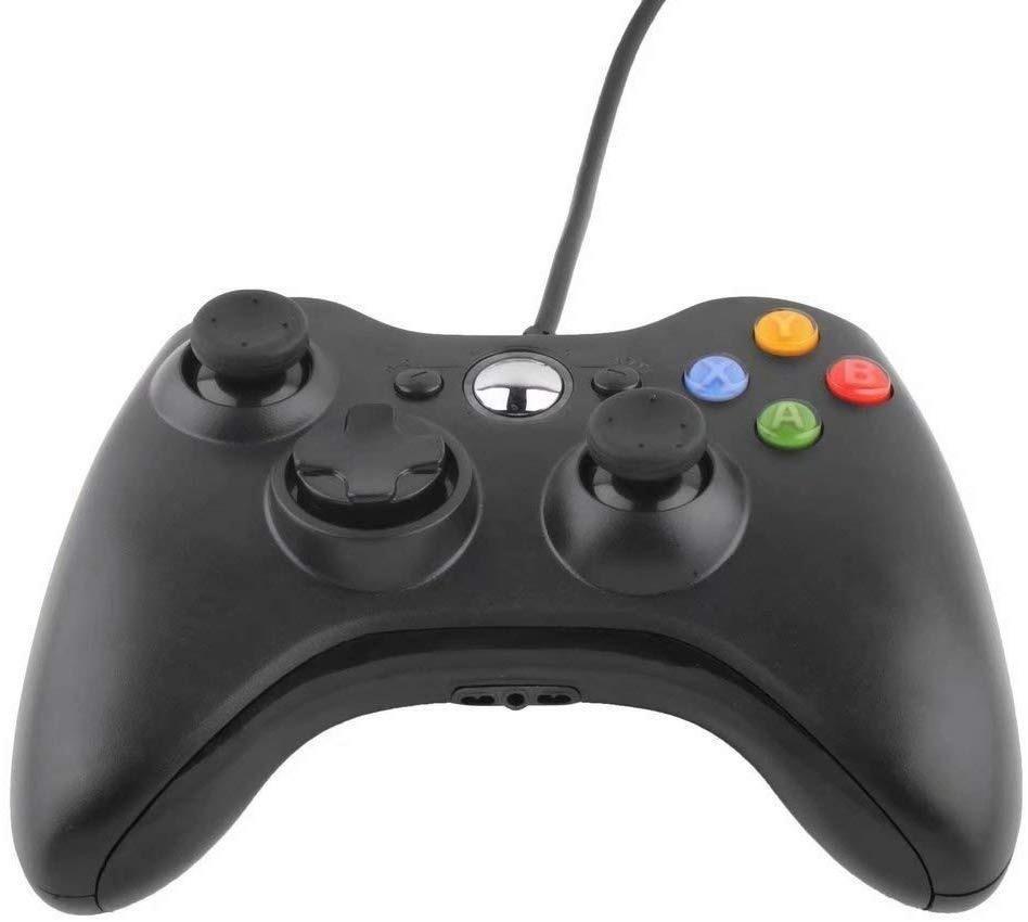 Новейший игровой контроллер 360 для <span class=keywords><strong>Xbox</strong></span> 360, аналоговый джойстик, проводной геймпад