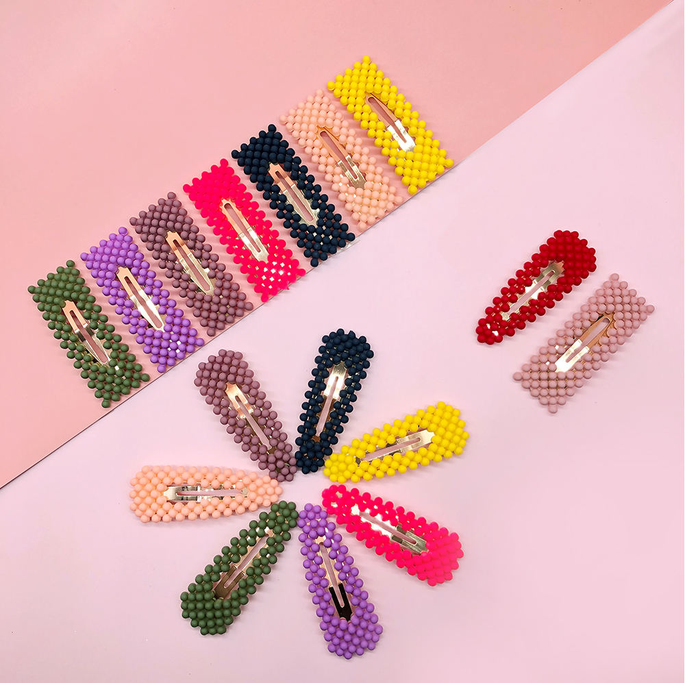Hot sale products hair accessories colorful hair pins wholesale womens hair clips and pins