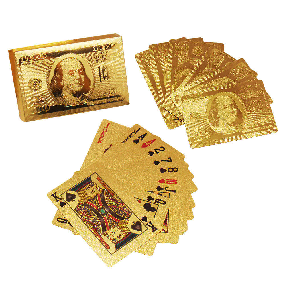 Vietnam promotion gold playing cards producer