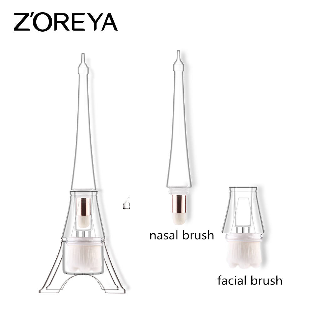 2 in 1multifunctional facial cleansing brush private label Buyer Prais skin care Makeup brushes