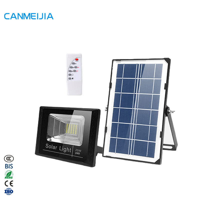 25W Waterproof IP65 Home Garden Floodlight Led Flood Solar Powered Outdoor Light,Solar Flood Light,Led Flood Light
