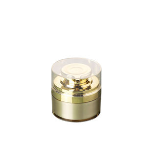 15ml 15g runde gesicht creme airless pumpe jar