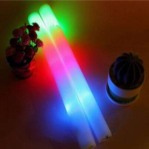 Guangzhou Custom Groothandel Schuim Glow Stick Light Up Led Knippert Schuim Stok