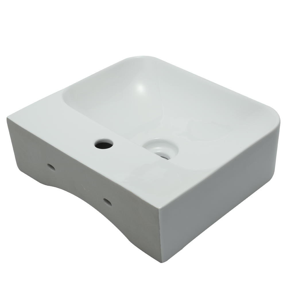 Small wash basin wall hung sink mount basin wall design