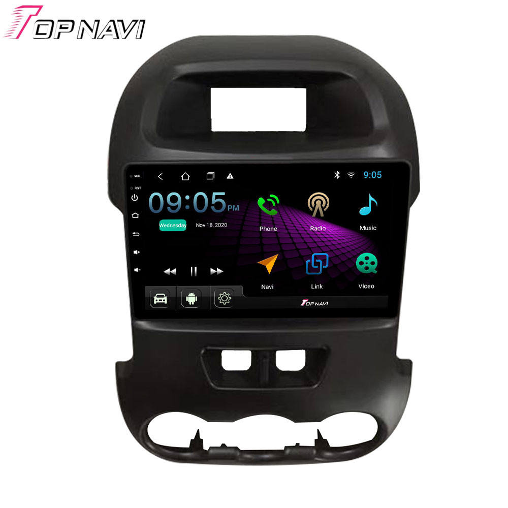 Ips 2G 32G Android 10.0 Car DVD GPS untuk Ford RANGER F250 2008-2017 Multimedia Player Stereo radio