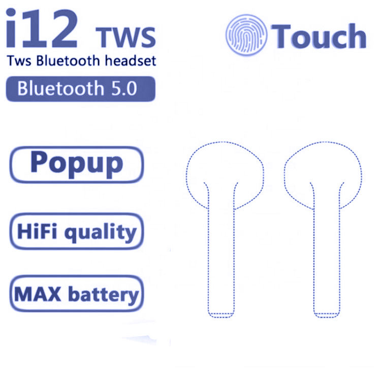 Active Noise-cancellation [ Earphone ] I11 Earphones Headphone I7 Earbuds I11 Touch Control 5.0 Mini True Wireless Earphone Inpods I11 TWS