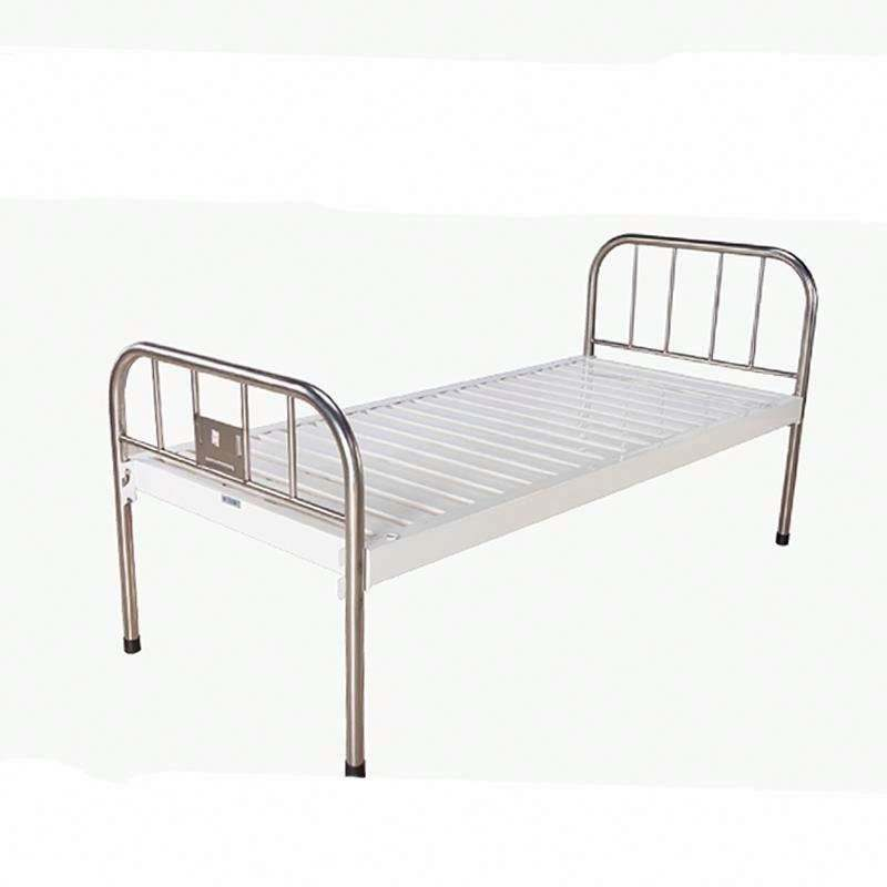 Cheap Adjustable Manual Patient Hospital Field Folding Medical Clinic Home Care Beds