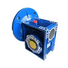 High quality right angle nmrv 050 worm gearbox with motor gear box electric for working machine