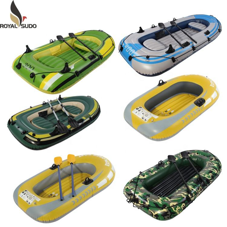 20 years professional inflatable product manufacturer inflatable rowing fishing raft boat sb012