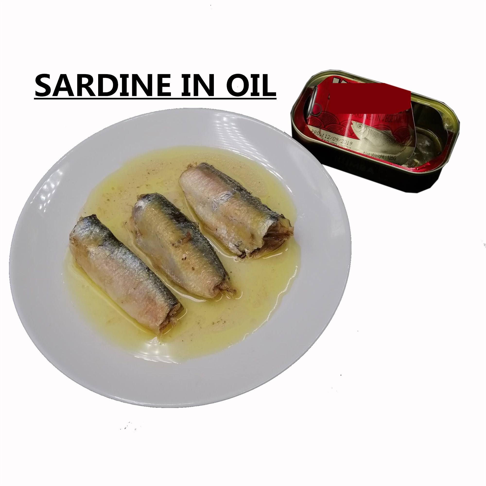 Best Healthy Canned Food Supplier Canned Fish Sardine/Tuna/Mackerel