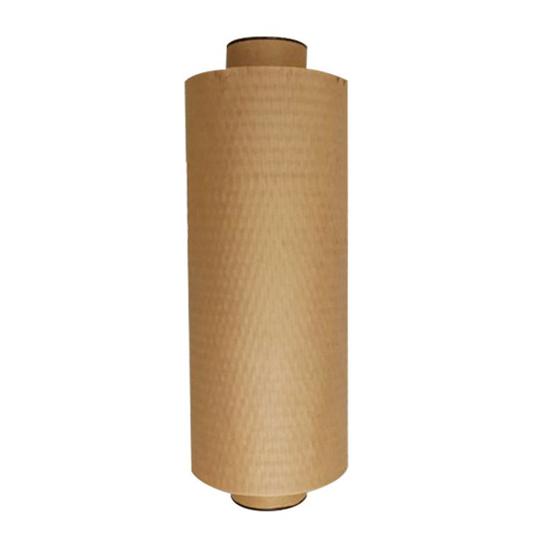 50CM*100M Factory price wholesale custom size logo honeycomb kraft paper wrapper for Wrapping Glass Cosmetics Wine Material