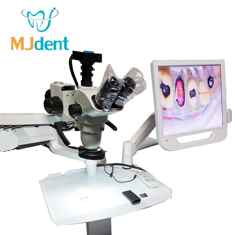 Portable Surgical Dental Microscope 180 degree hospital use / dental operating microscope 10x 25x