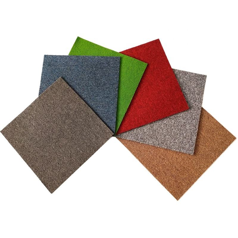 Cheap Price Commercial Square Floor 50*50 Office Hotel Carpet Tiles
