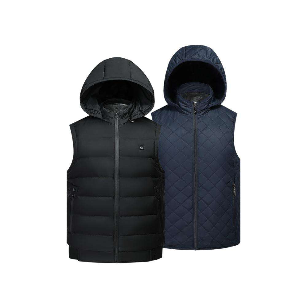 Lady outdoor jacket with graphene heating pad slim fir