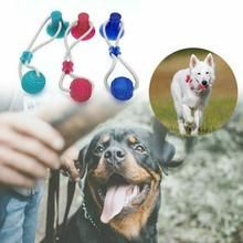 Multifunction Pet Molar Bite Suction Cup Chew Toy Dog