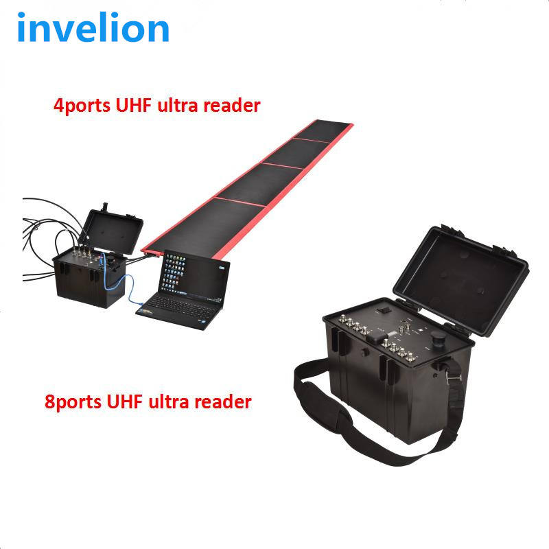 UHF RFID Sports Timing System for measure triathlon race(swimming,biking,running)