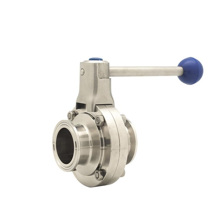 Sanitary Butterfly Valve Price List Male Female Threaded Manual 4inch Butterfly Valve