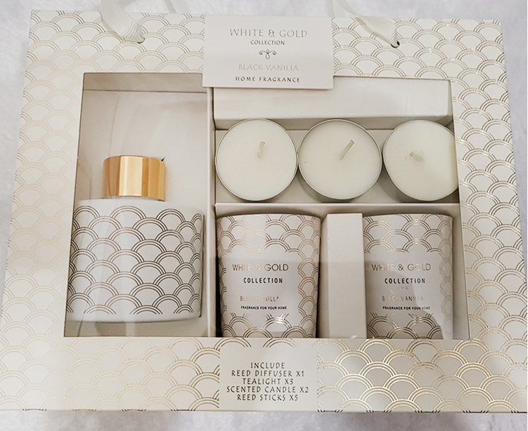scented oil fragrance set candle jars container wholesale
