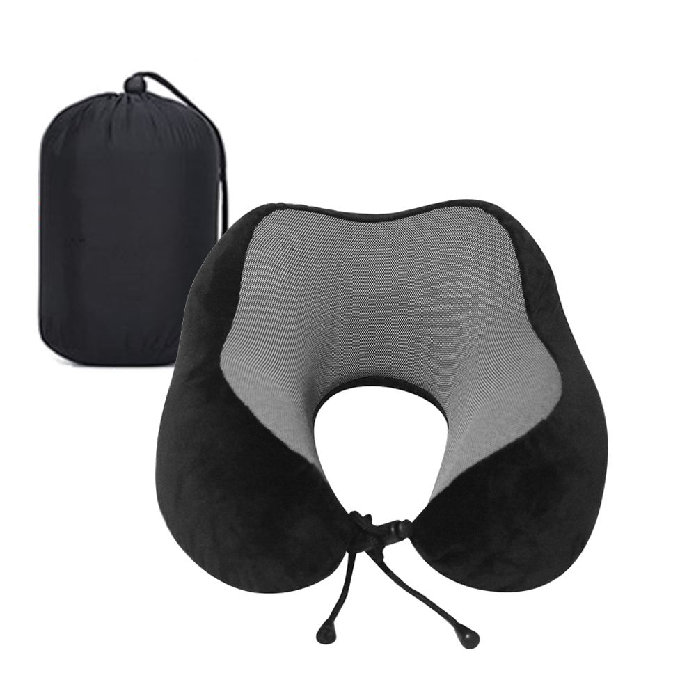 2020 Amazon Hot New Travel Neck Rest Cushion Memory Foam Travel Pillow