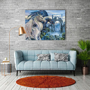 Wholesale The dinosaur 5D Diy full drill Diamond Painting Kids Home decoration painting wall painting living room