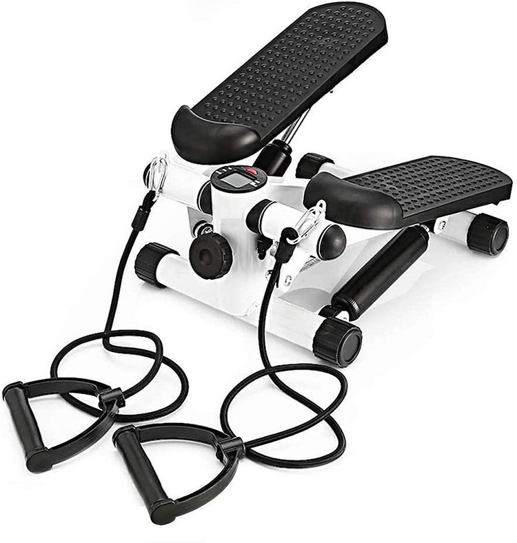 New Design Up-down Mini fitness twister Stepper with Resistance Rope exercise stepper
