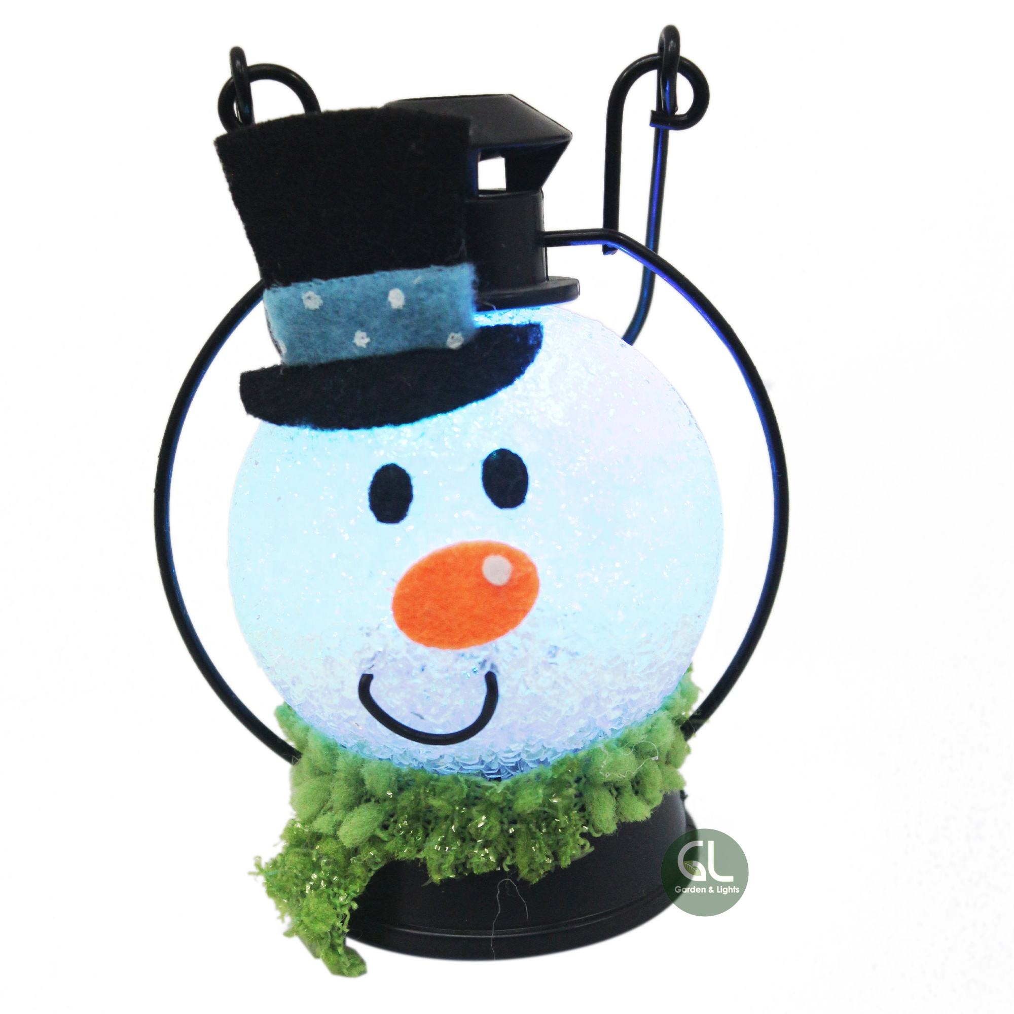Seasonal and Holiday Hanging Decoration Snowman LED Night Light Snowman Gift