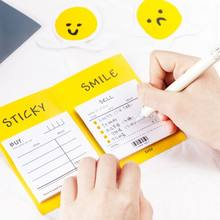 60 sheets smile sticky Notes Emoji designs Post a note memo N times