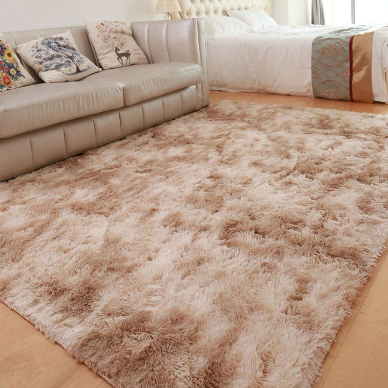 China polyester shaggy long pile shaggy carpet