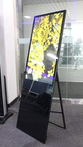 Network interactive touch screen rotate stand floor standing advertising tv player