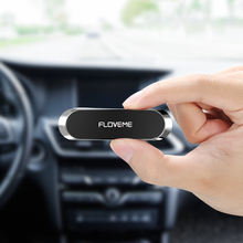 Free Shipping FLOVEME Mini Car Wall Mount Magnet Cell Phone Stand / Multifunctional Magnetic Mobile Phone Holder