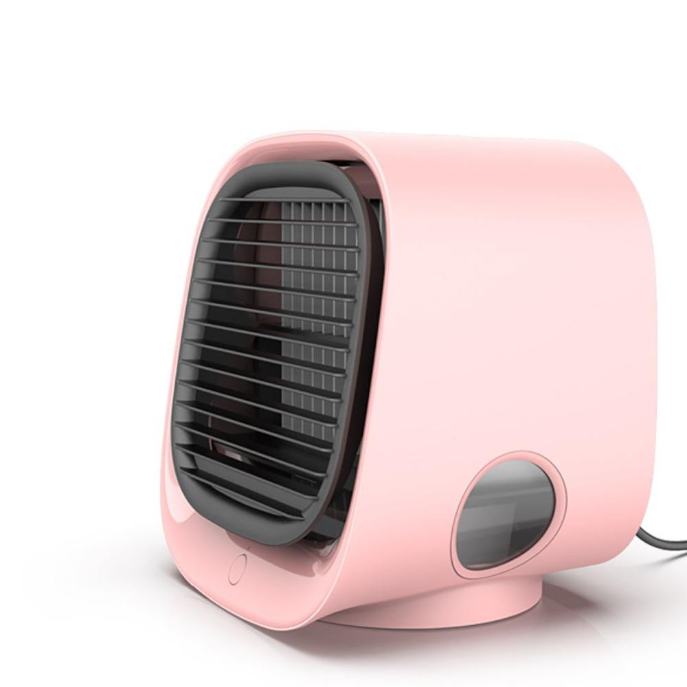 Household Mini Cooling Fan Air Cooler Water Mist Fan For Office Home