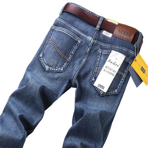 Name Brand Pent Straight Crazy Age Man Denim Pant Men Bulk Trouser Designer Boy velvet thickeniJean Stock Lot men trousers jeans