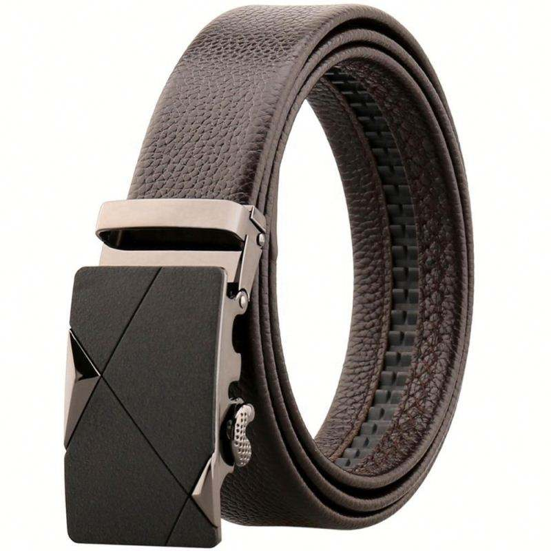 Alfa Famous Brands Genuine Leather automatic Buckle Belt importer For Men