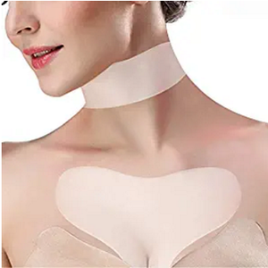 SILICONE ANTI WRINKLE NECK AND CHEST PAD FOR WOMAN