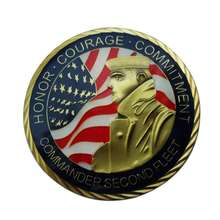 Bulk wholesale bronze us army challenge coins