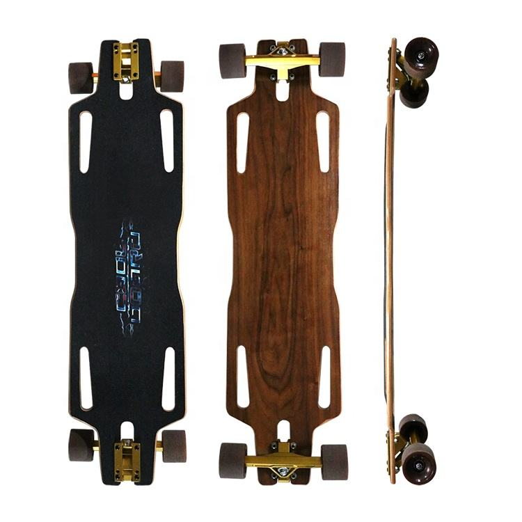 High Quality Maple Penetrating Plate Style Skate Longboard