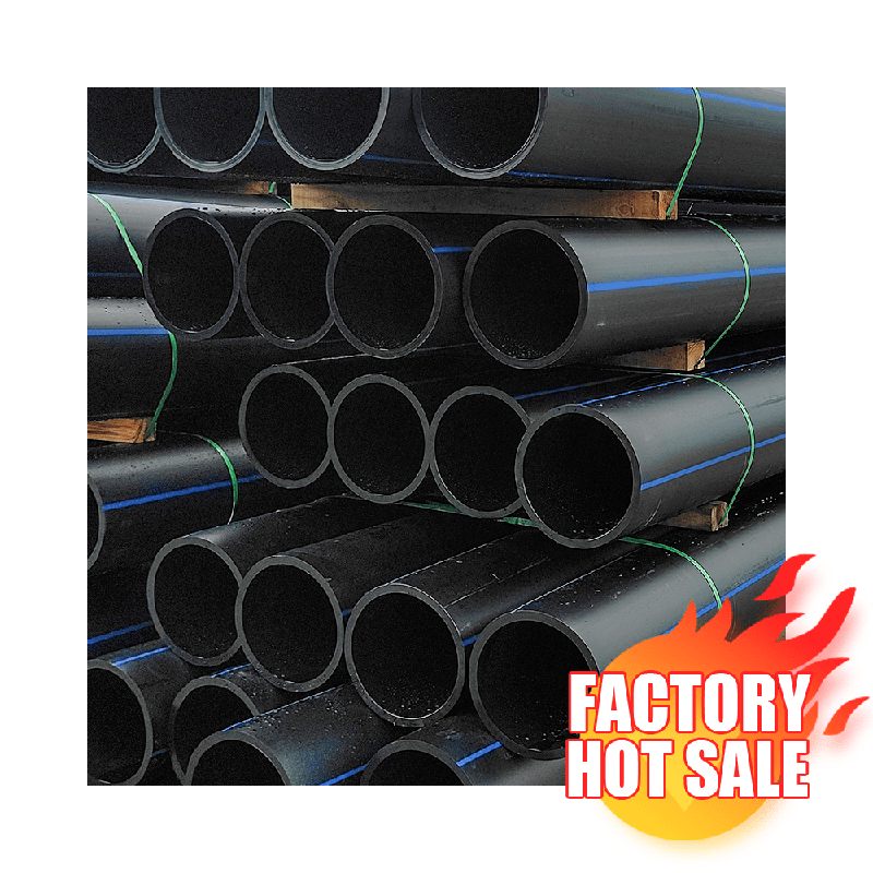 Lightweight Plastic 200mm Pe100 Mud And Sand Dredging Pipe/tube Pn10 Large Diameter 1500mm Hdpe 1 Inch Irrigation Pipe