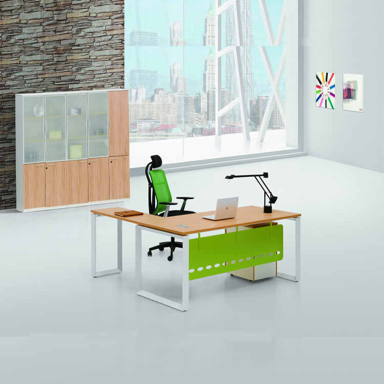 Best Seller Office Furniture Modern Office Table With Metal Frame