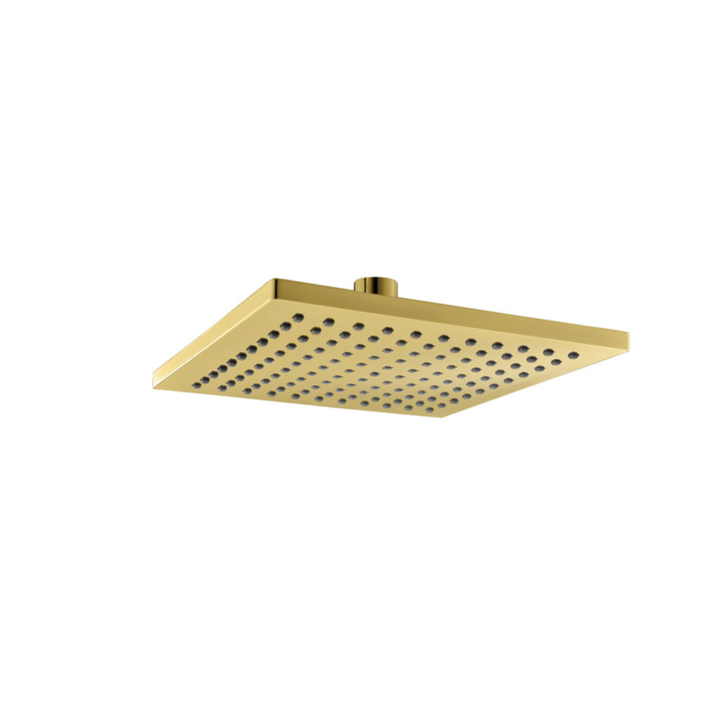 Modern Square Gold Head Shower