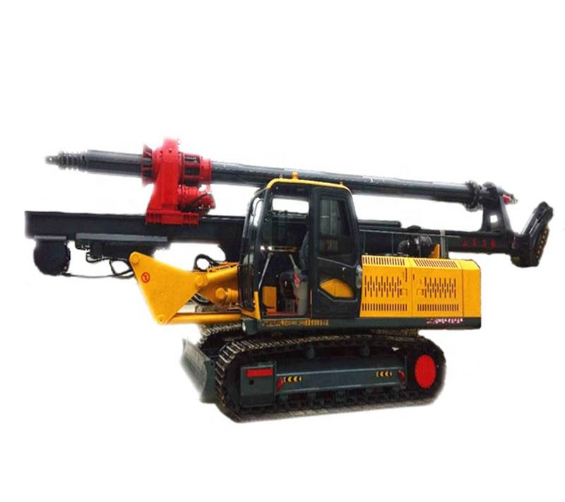 large caliber bore rotary piling rig machine