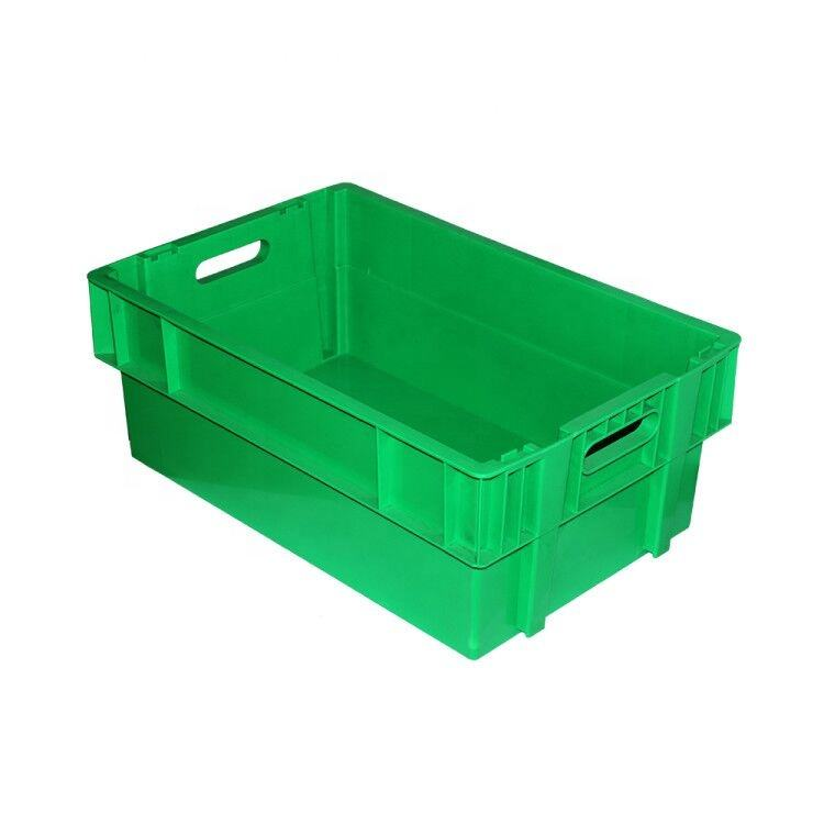 Logistic packaging plastic storage crates