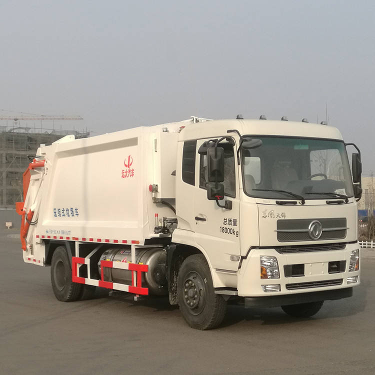 Factory New Energy Rear Loader Garbage Compactor Truck