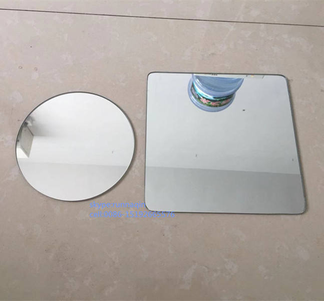 Float glass beveled edges aluminum mirror rectangular wall mirror round mirror in collage espejos adhesivos 18x21 8x10