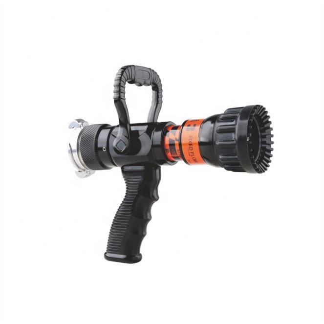 High quality Selectable Flow Pistol Grip Jet Spray Fire Hose Nozzle