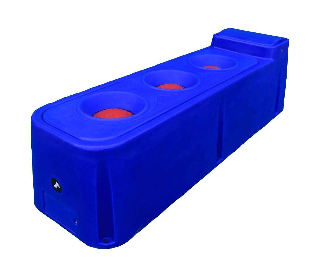 Livestock Water Trough / Tank For Horse Cow Sheep Large Volume Automatic Water Fill PE Material