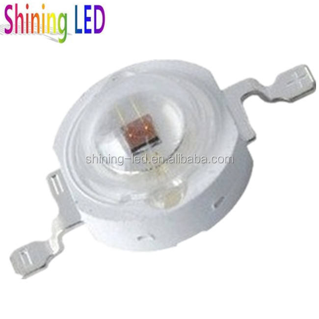 With Clear PC Lens TW 42mil Epileds 1W High Power 650nm 3W 660nm LED Chip Photo Red
