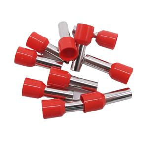 C-Superun Colorful PVC Sleeve Insulated Pin Crimping Wire Joint Tubular Ferrule Cord End Terminal Lug