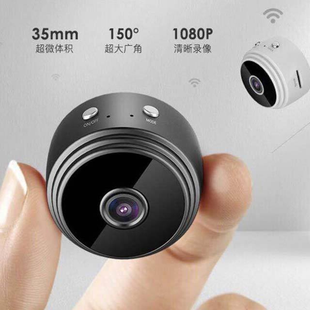 Amazon Hot Sell Round 1080p Security MIni Wifi Cctv Camera